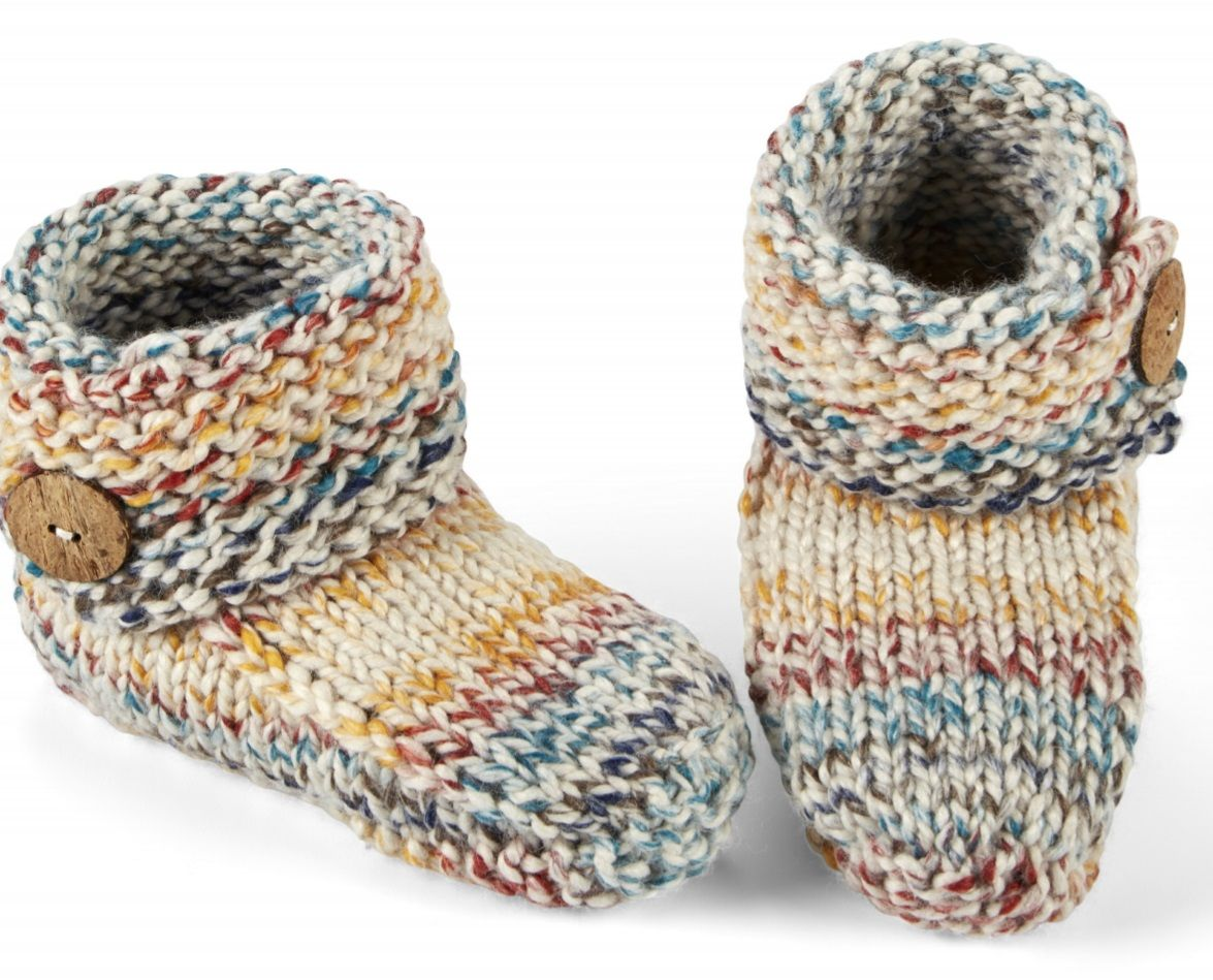 e4fc1aa2f Over 50+ Free Knitting Patterns for Slippers | knitting | Knitting ...