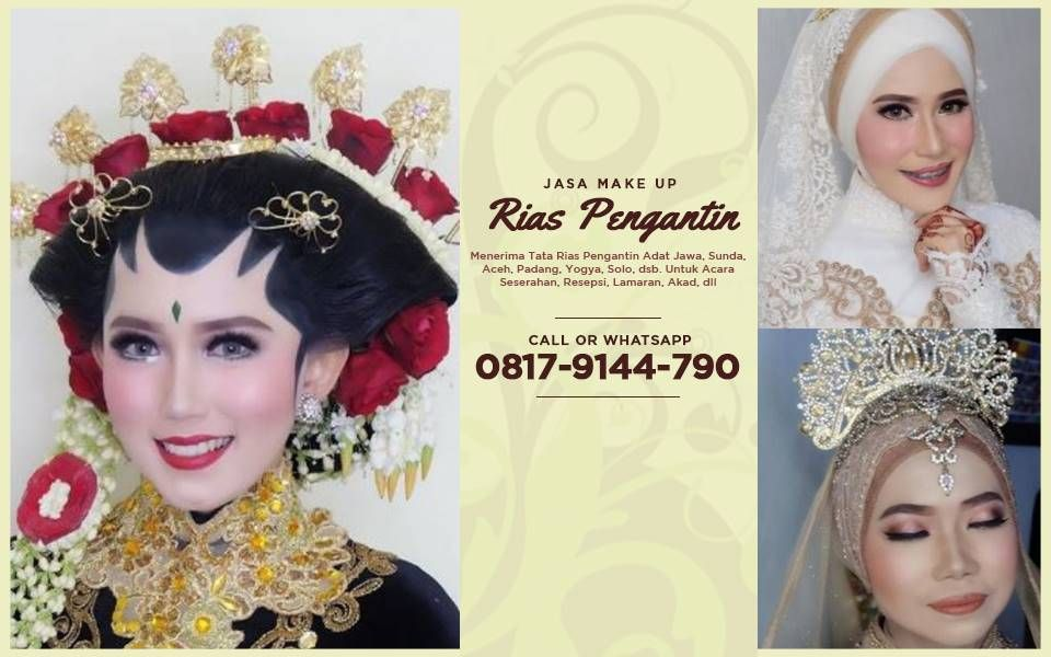 Harga Paket Make Up Pengantin Di Jakarta Make Up Pengantin