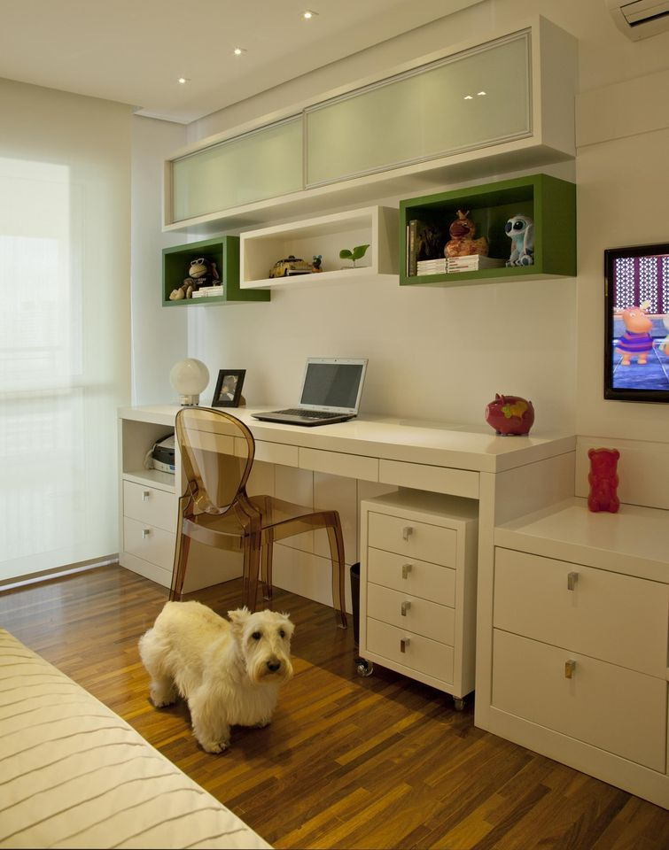 Dormitorio y oficina juntos for Muebles daicar