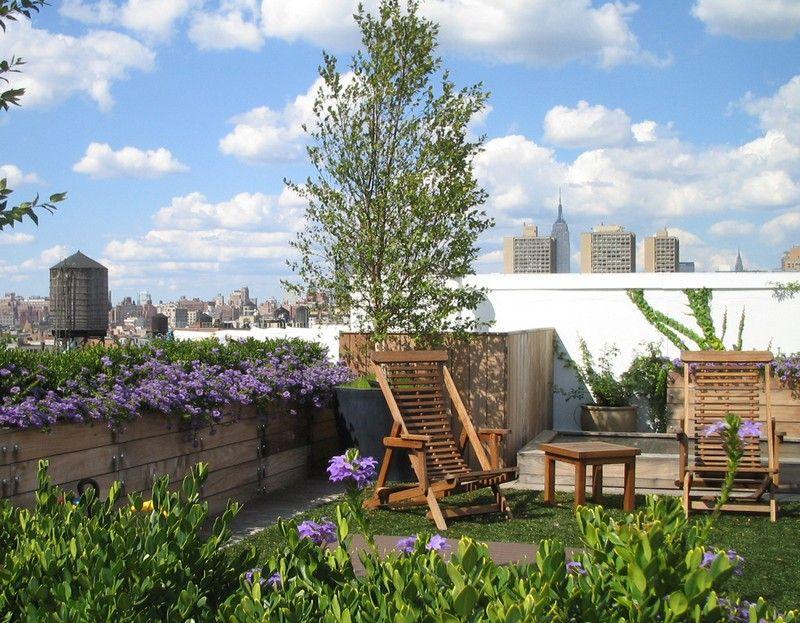 Haus Garten Die Umweltfreundliche Gestaltung Der Dachterrasse