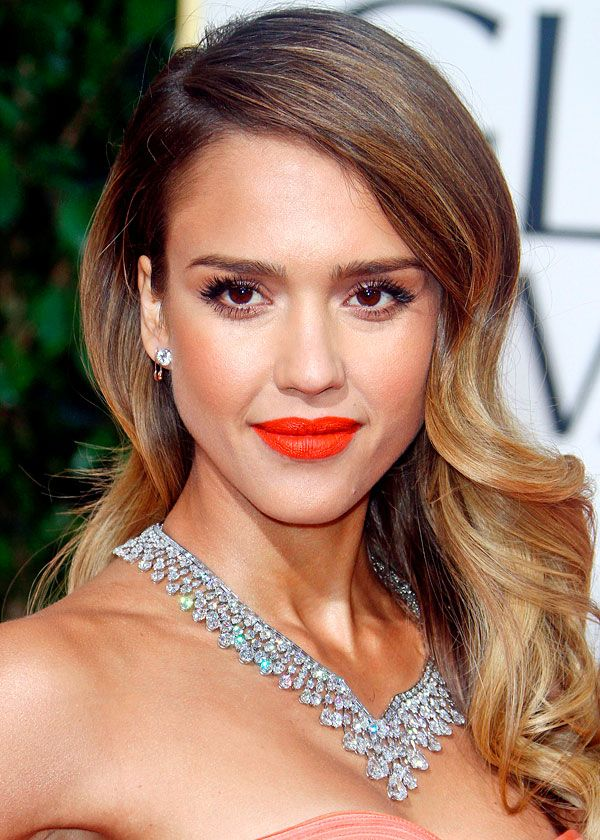 Glamorous mother of two Jessica Alba stunned at the 70th