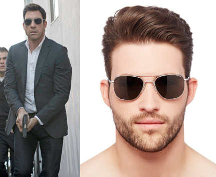 f1772d318db Jack Larsen (Dylan McDermott) wears Randolph Engineering Aviator ...