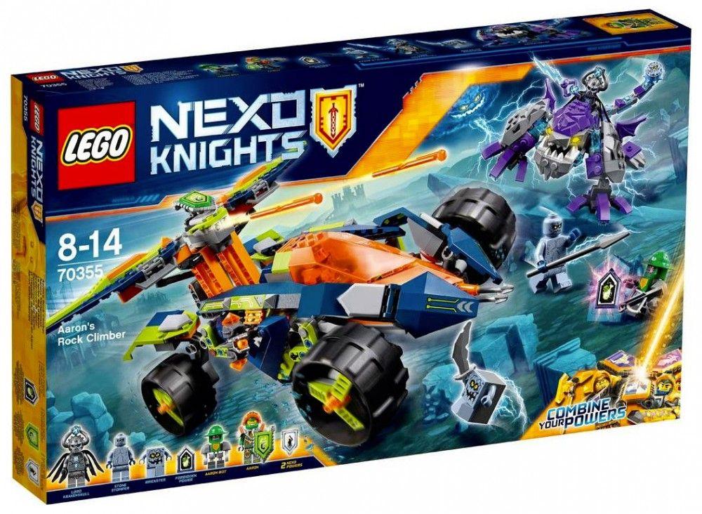Lego nexo knights 70355 le turbo 4x4 d aaron lego nexo - Jeux de ninjago gratuit lego ...
