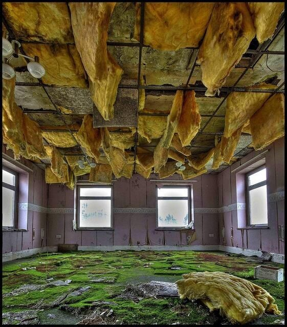 The Asylum 'Living Room' (Talgarth Mental Hospital, Wales