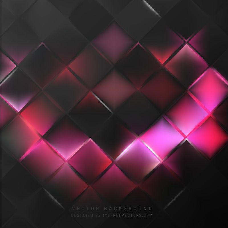 Wallpaper Black Pink: Black Pink Square Background Pattern In 2019