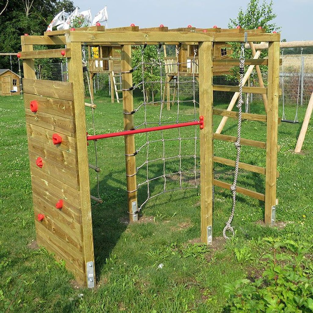 01 Awesome Small Backyard Playground Landscaping Ideas In