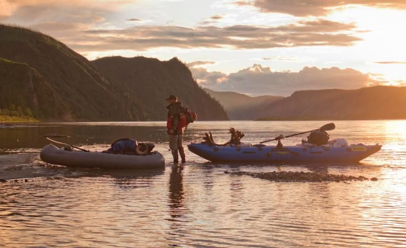 Float hunters at Yukon-Charley Rivers National Preserve