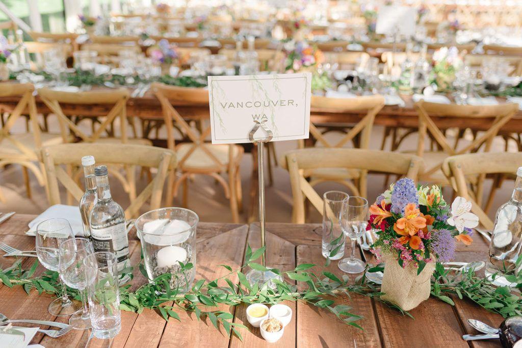Home Is Where The Heart Is Sophie Nick S Wedding In Cavan Onefabday Com Ireland In 2020 Wedding Table Place Settings Wedding Table Marquee Wedding