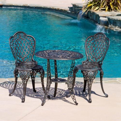 Best Selling Home Decor Furniture Ritter Aluminum 3 Piece 400 x 300