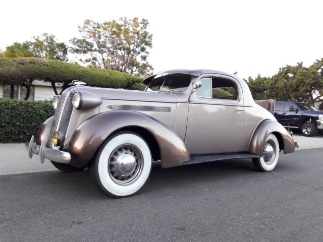 1936 Pontiac 3 Window Coupe W Factory Rumble Seat Cars Of The