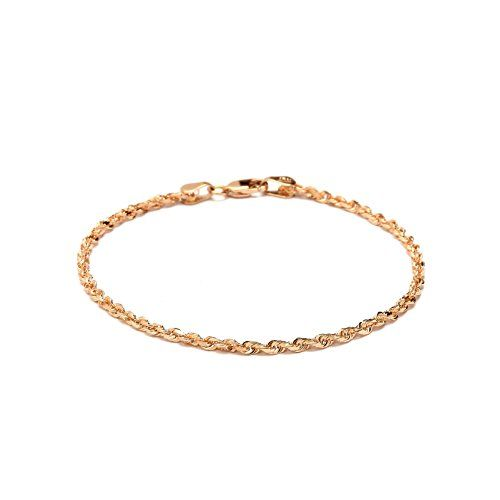 anklet s inch white rope chain ankle p slim gold ultra bracelet