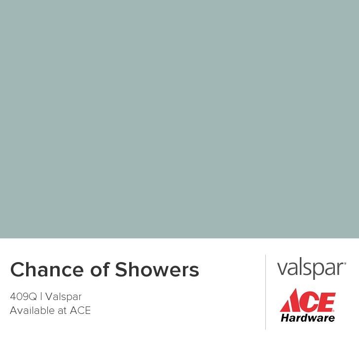 Chance of Showers from Valspar. Used this in our kitchen, and it ...