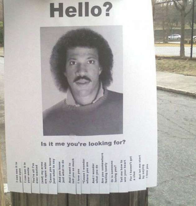 28 Funniest u201cMissingu201d Flyers To Ever Be Posted On A Telephone Pole - Funny Missing Person Poster