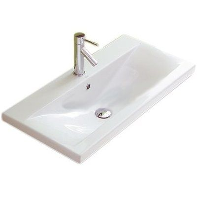 Althea By Nameeks Clever Ceramic 39 Wall Mount Bathroom Sink With