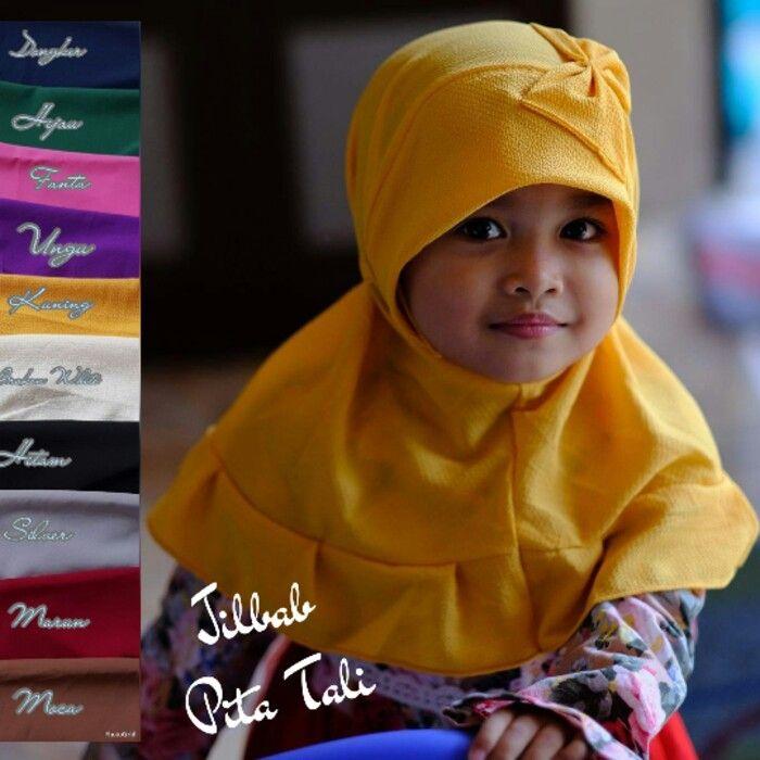 Jilbab Instan Anak Jilbab Pita Tali Jilbab Anak Dengan Model Softpad Pad Tanpa Busa Dipercantik Dengan Hiasan Pita Yang Dij Anak Baju Anak Pakaian Islami