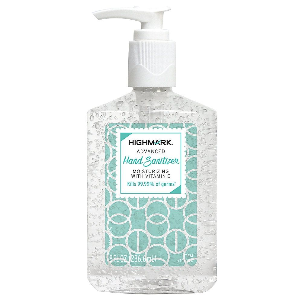 Highmark Original Hand Sanitizer 8 Oz Hand Sanitizer Natural