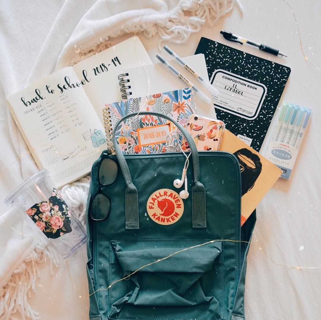 "� � � � on Instagram: ""Who else is going back to school this season? �� I started senior year (aka last year of high school) and everyone seems to have…"""