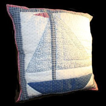 Cotton/Polyester Lighthouse #Pillow 16'' #square # 64048 Shop --> http://www.rensup.com/Pillows/Pillows-Blue-Cotton-or-Polyester-Lighthouse-Pillow-16-inch-Square/pd/64048.htm
