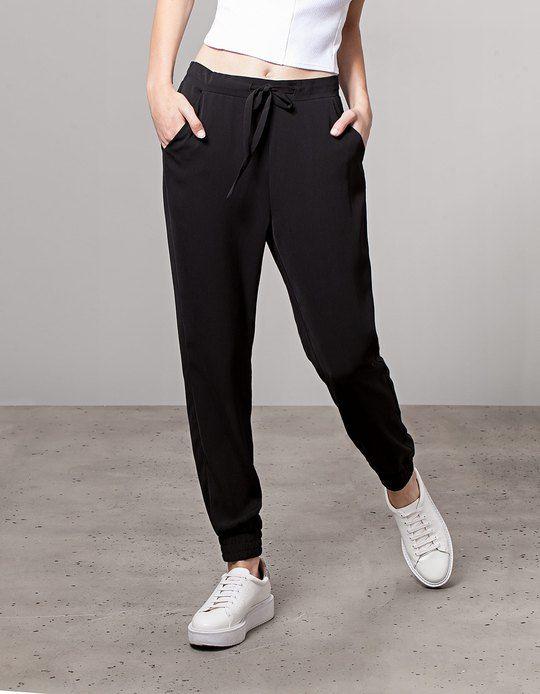 c95b2f2a97ff Baggy pants - TROUSERS - WOMAN