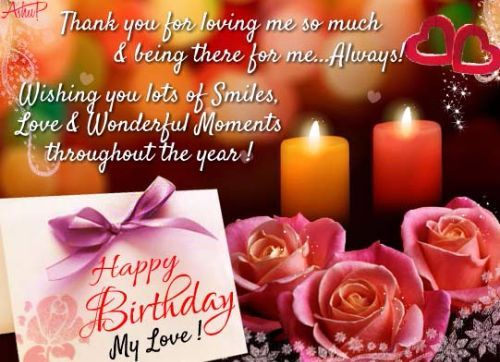 100 Romantic And Happy Birthday Wishes For Husband Romantic