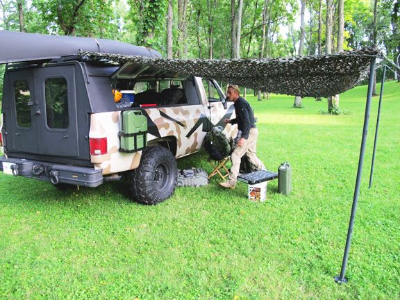 Creek Stewart Bug Out Truck Bug Out Vehicle Survival