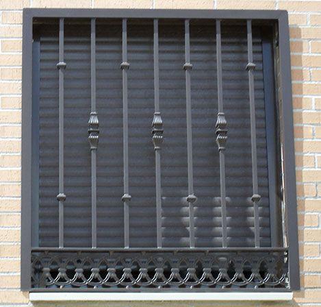 Cerrajería en Madrid, Rejas de Seguridad para Ventanas en Madrid ...