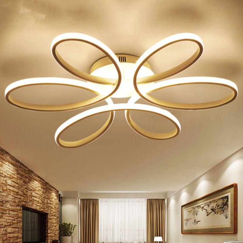 Luxury Bedroom Led Ceiling Light Romantic Home Lighting Creative Fashion Ceiling Lamp Abajur Infantil De Q Ceiling Ceiling Lights Modern Minimalist Living Room