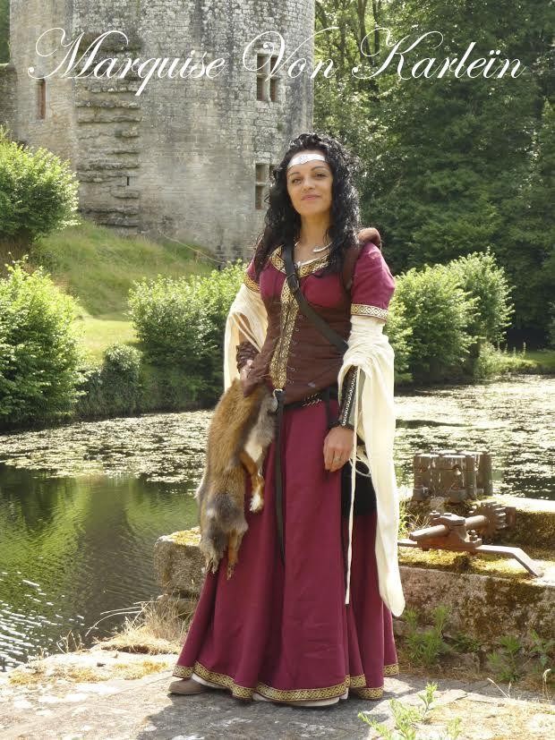 Robe Médiévale / Medieval dress | Médiéval Fantastique ...