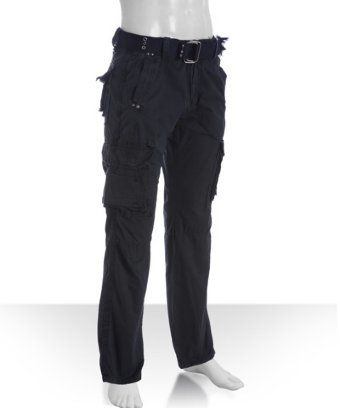 b7188163a3b X-RAY Jeans navy cotton woven cargo pants | BLUEFLY up to 70% off designer  brands at bluefly.com