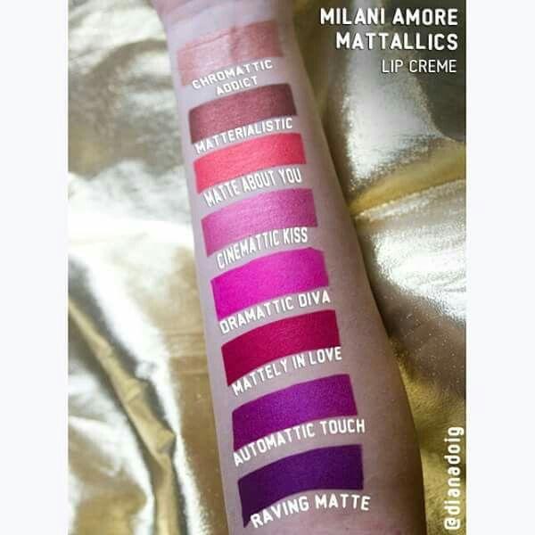 Milani Amore Mattallics Lip Crème