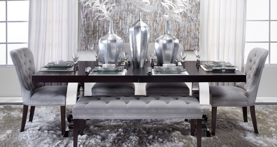 This Room Takes Formal Dining To Another Level I Think Would Find The Excuse For Every Night Inspired By Look On From Z Gallerie