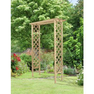 Buy Forest Trellis Garden Arch At Argoscouk Your Online Shop For