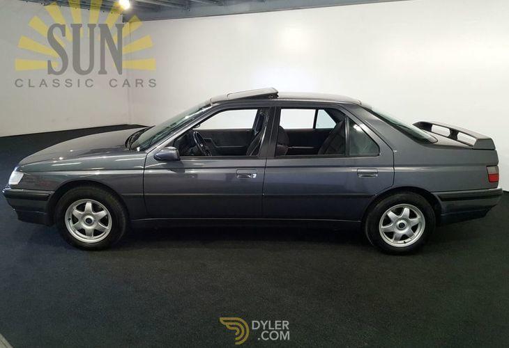 Peugeot 605 Sr 3 0 Very Rare Sedan Saloon 1990 Grey Car For Sale