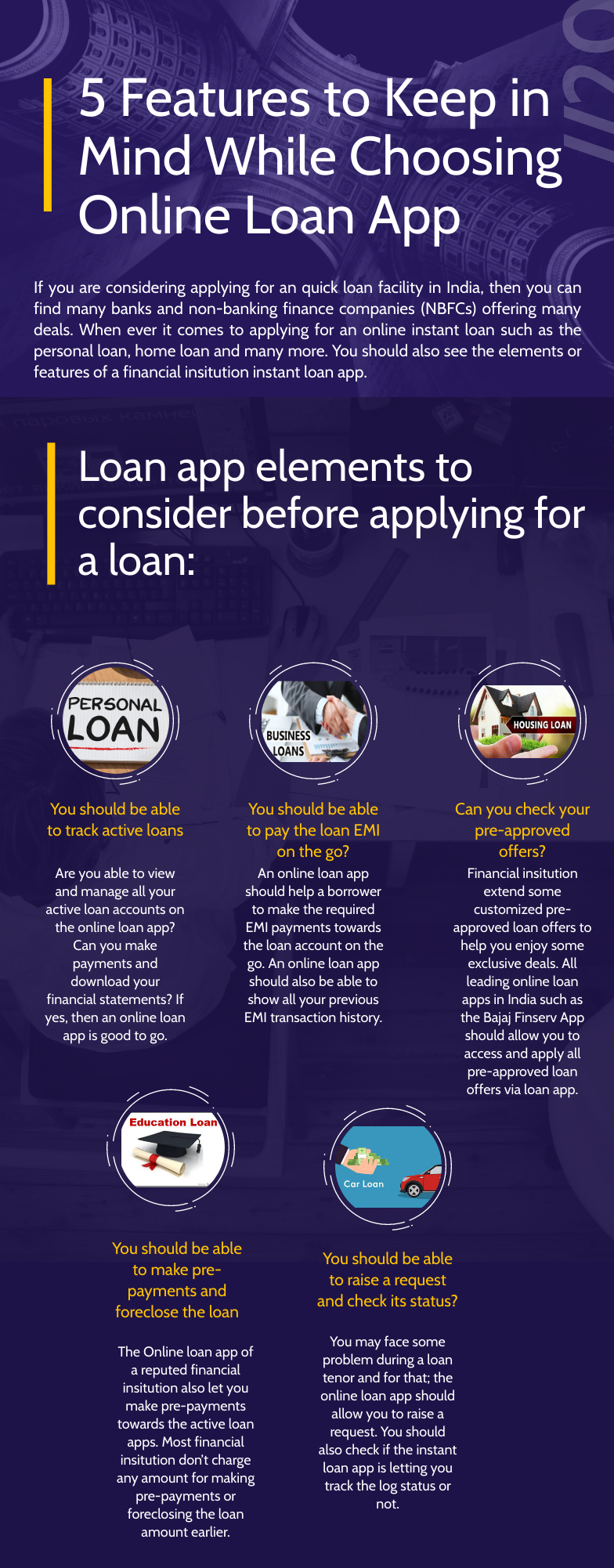 Keep These 5 Features While Choosing Online Loan App In 2020 Online Loans App Instant Loans