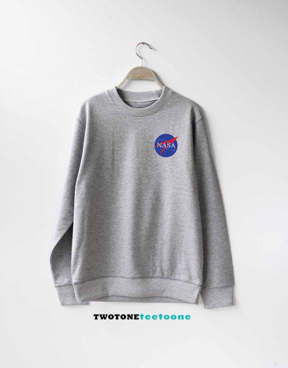 6bccff992 Nasa Sweatshirt Sweater Jumper Pullover Unisex