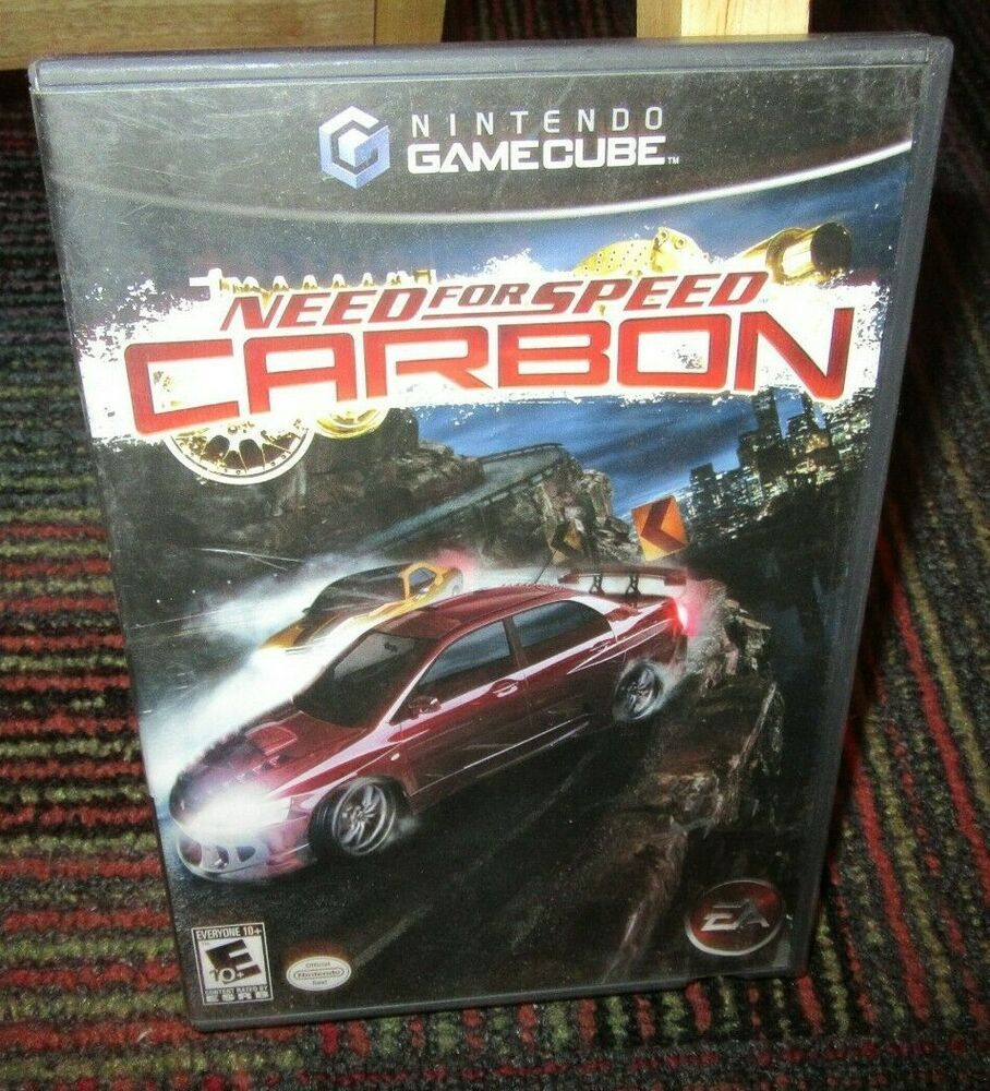 Need For Speed Carbon Game For Nintendo Gamecube Game Case
