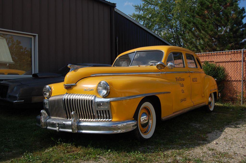 1947 DeSoto Cab   Cars and Car museum