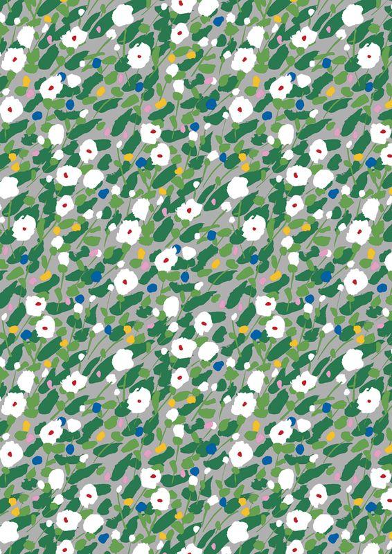 Kesäheinä fabric / Design by Aino-Maija Metsola for Marimekko #MarimekkoSS14 #Marimekko