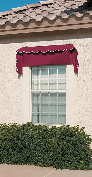 canvas window awnings striped image canvas window awnings affordable retractable are available in several