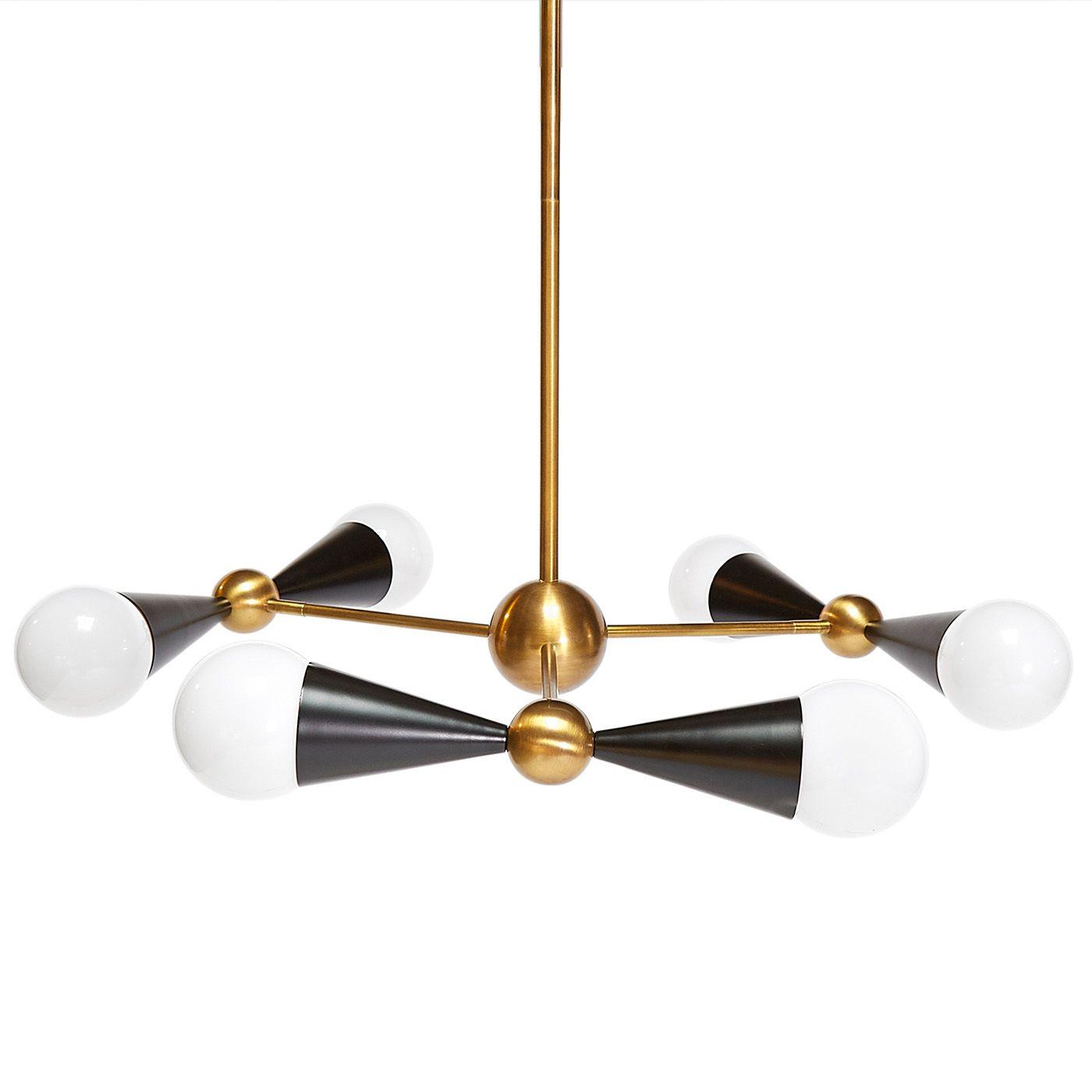 Jonathan adler caracas six light chandelier caracas chandeliers jonathan adler caracas six light chandelier arubaitofo Choice Image