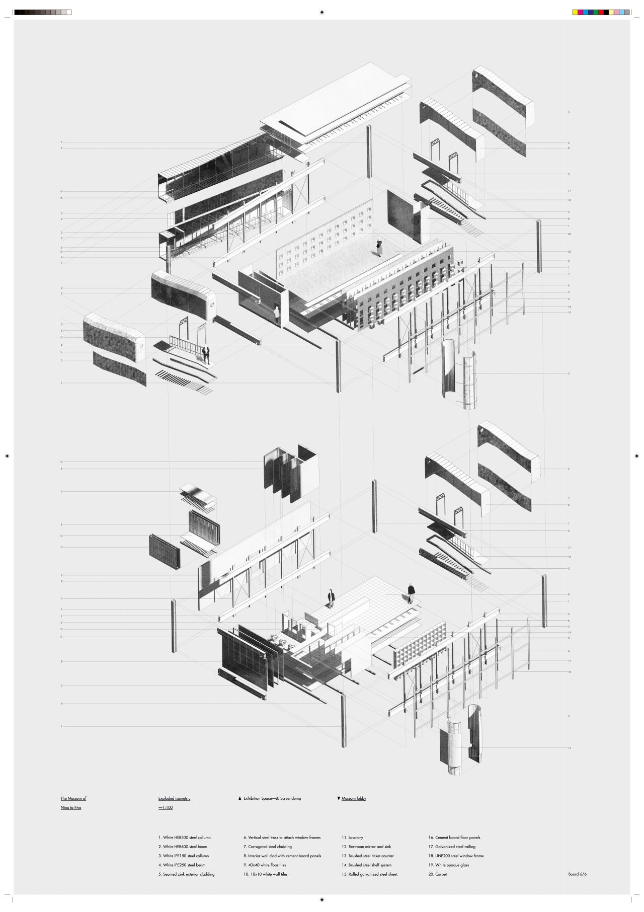 Presentation Board 7 7 Exploded Isometric