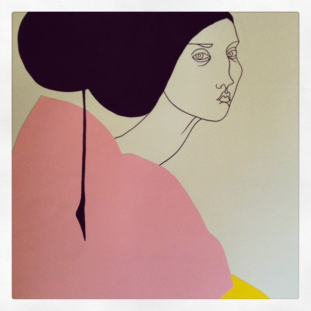 Lisalotte Watkins fashion illustration collage
