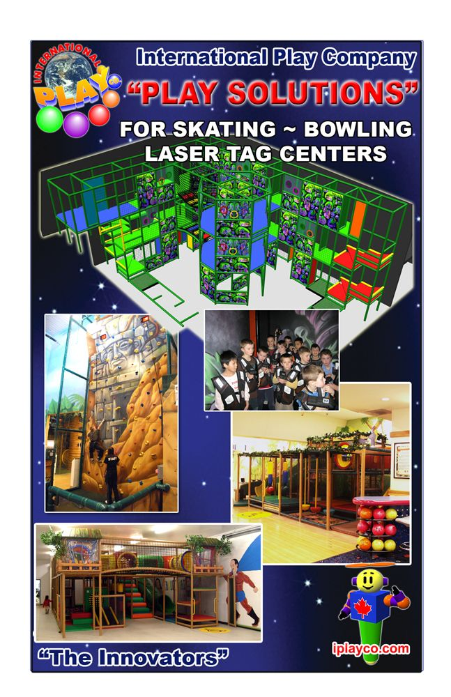 Add An Indoor Play Structure To Your Skate Center Or Laser Tag Facility Great Addition For Kids Play Equipment Playground Design Play Structure