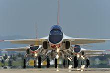 T-50 Golden Eagles lining up