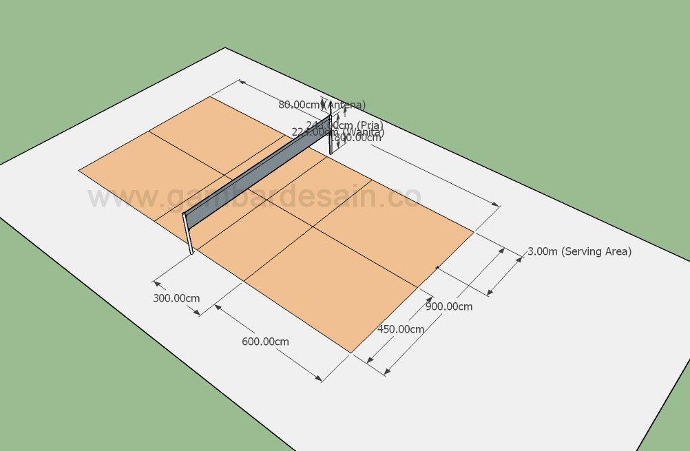 99 Gambar Desain Lampu Lapangan Voli Yang Bisa Anda Tiru