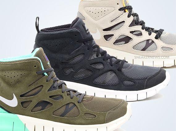 Nike Free Run 2 Mid Preview | Clothes | Nike free run 2