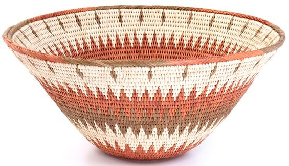 Namibian Baskets - Makalani Bowl  11.5 Inches<br>20601
