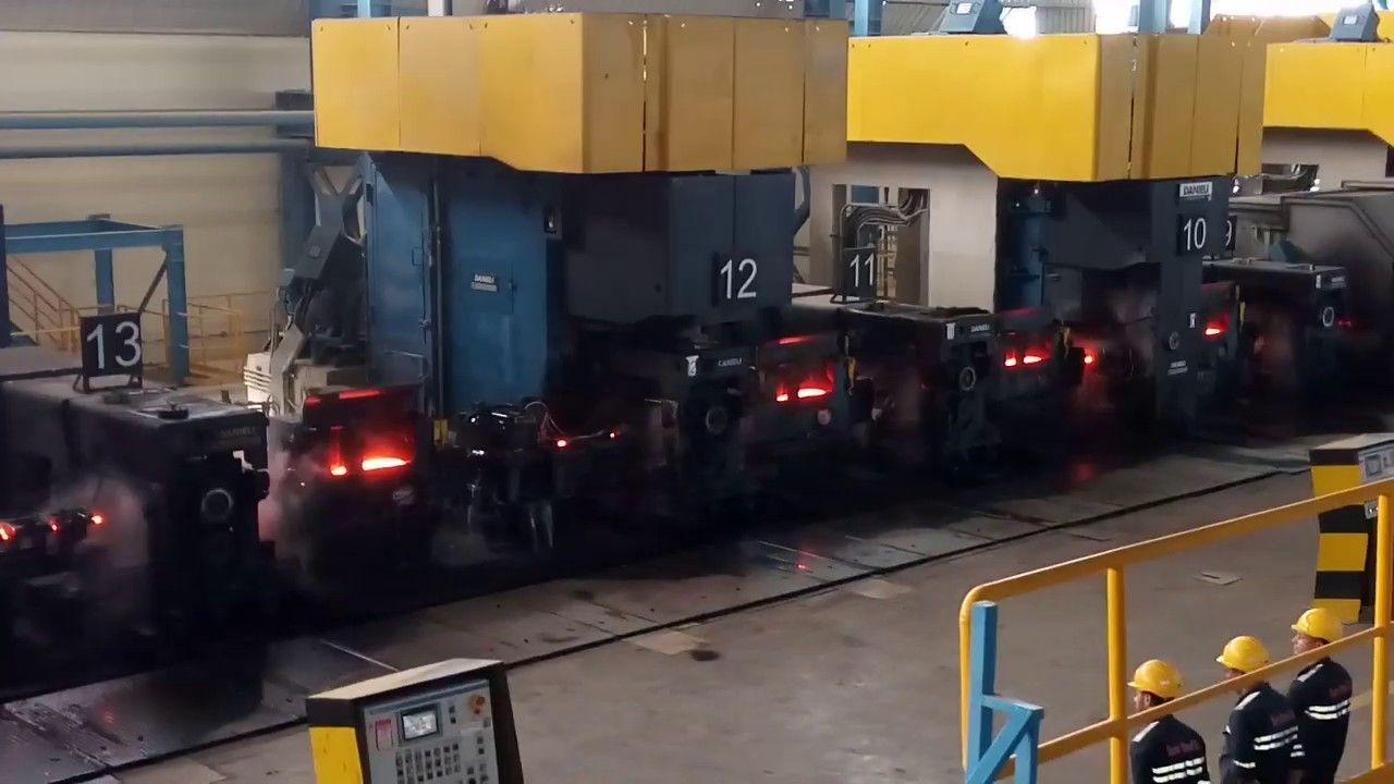 مازلنا من داخل أهم مصنع فى مصر لصناعة الحديد والصلب تابع سلسلة الفيدي Places To Visit Places Structures