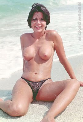 Sexy nude girls wearing soft fur