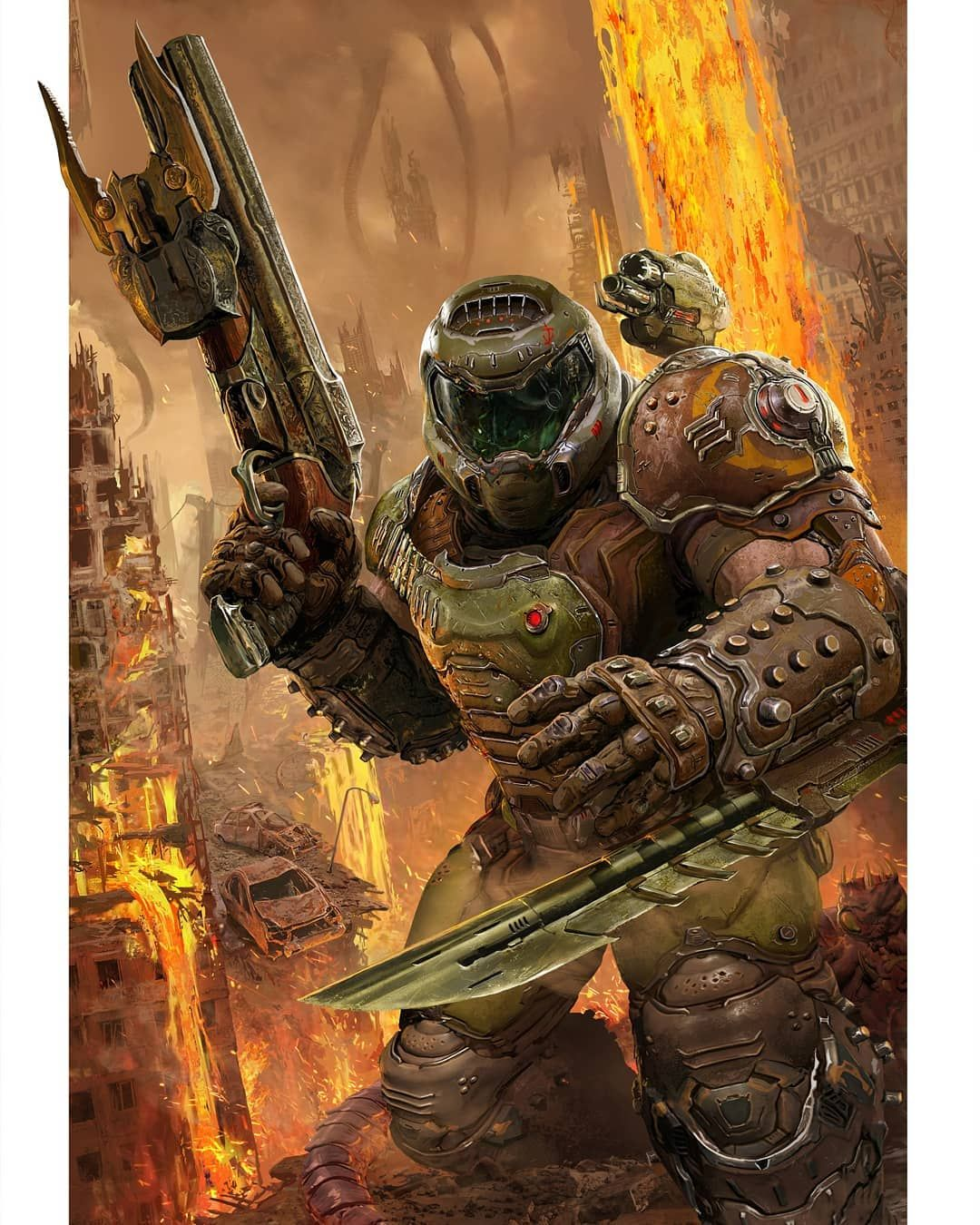Doom Community On Instagram Amazing Art By Harryosbornart It
